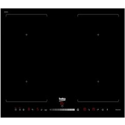 Beko HQI 64501 FHT 4 Burner Black Glass Induction Hob - 8690842131615