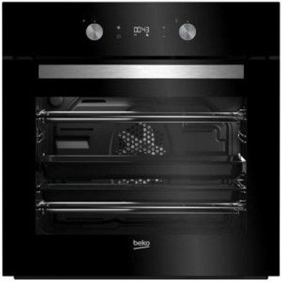 Beko BQM24301BCS  7724088320  Black Electric Multifunction Single Oven - 8690842133206