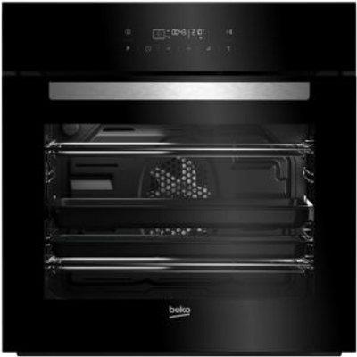 Beko BQM24400BPS Black Electric Pyrolytic single oven