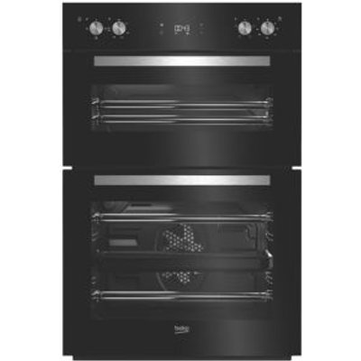 Beko BDQF24300B Black Electric Multifunction Double Oven - 8690842133374