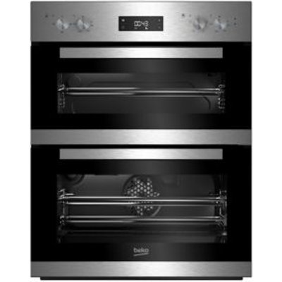Beko BTQF22300X  7728586308  Stainless Steel Electric Multifunction Double Oven - 8690842133398
