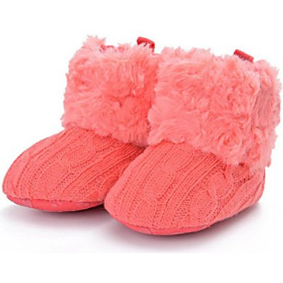 Baby Shoes Cotton Fall Winter Comfort First Walkers Boots For Casual Blushing Pink Red Gray Black Wh
