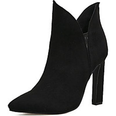 Women's Shoes Leatherette Fall Winter Comfort Novelty Fashion Boots Bootie Boots For Wedding Casual