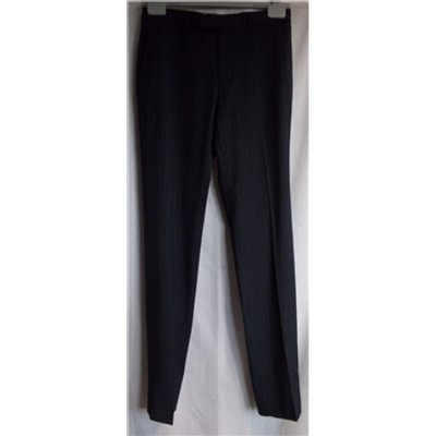 M&S - Size: 30 waist - Navy pinstripe Slim Fit - Trousers