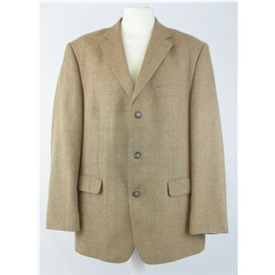Di Quattro size: 44 chest sand checked Single Breasted Jacket