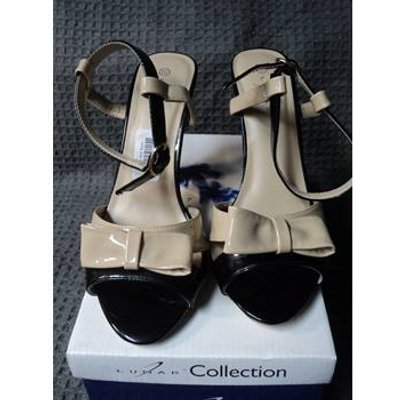 Lunar collection - Size: 5.5 - Cream - Heeled shoes