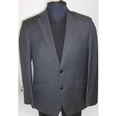 Daniel Grahame - Size: 40s - Grey - Single breasted suit