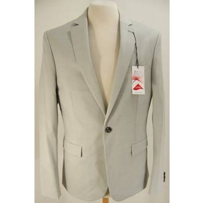 M & S Collection - Size: M - Light Grey - Single breasted suit jacket