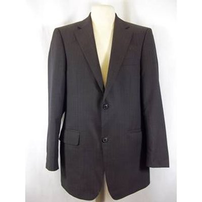 Hugo Boss - Size: XXL - Brown - Single breasted suit