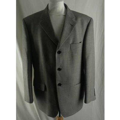 M&S Marks & Spencer Italian Wool & Silk Single Breasted Jacket- Size: 42 Short