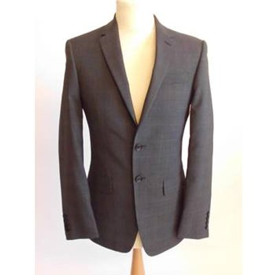 M&S Collection Charcoal/Grey Suit Jacket 38 inch chest