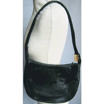 Russell & Bromley black leather pony skin shoulder bag Russell & Bromley - Size: Not specified - Bla