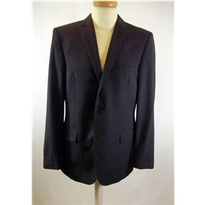Ted Baker Endurance size: M blue pinstripe single breasted suit jacket