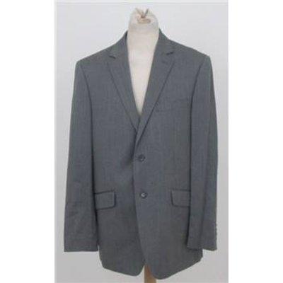Berwin & Berwin size: 52R grey single breasted suit jacket