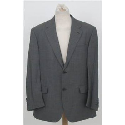 Jaeger size: 42 short grey single breasted wool suit jacket