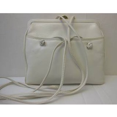 Ganson -   White - Vintage -Shoulder bag