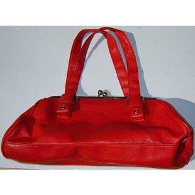 Dorothy Perkins red purse style handbag