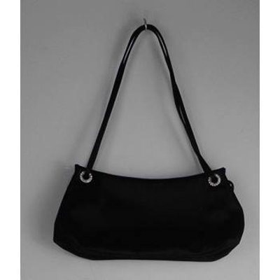 Bruno Magli Size: One size Black Shoulder Bag with Diamantes