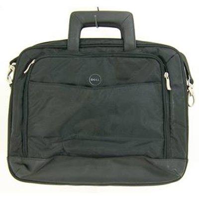 Dell - Size: Medium: Black laptop bag