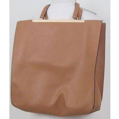 BNWT M&S Collection Camel coloured shopper bag