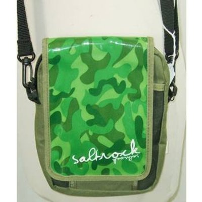 Saltrock green camouflage shoulder bag