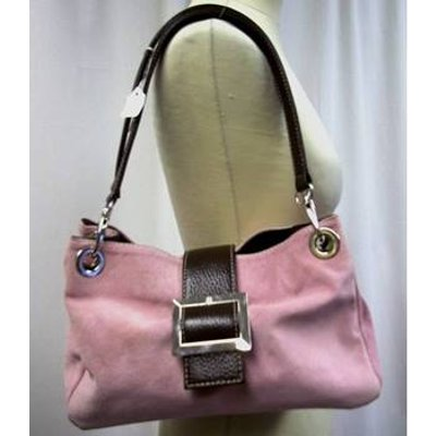 Unbranded Size M Muted pink and brown handbag