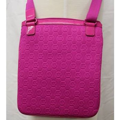 Micheal Kors pink across the body bag