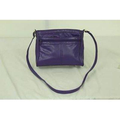 Purple handbag - Jane Shilton JAPELLE by Shilton International - Size: Not specified - Purple - Cros
