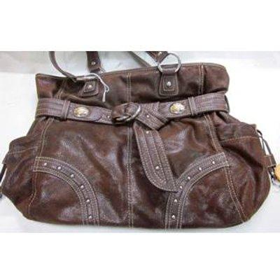 KATHY VAN ZEELAND handbag Kathy Van Zeeland - Size: L - Brown - Shoulder bag