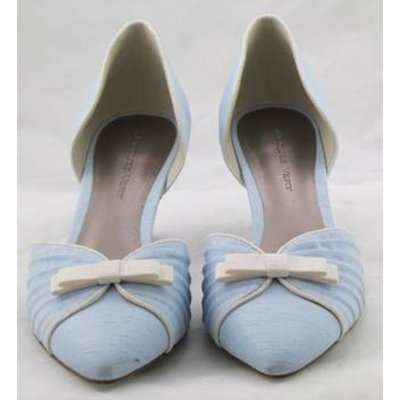 BNWT Jacques Vert, size 4 light blue two-piece shoes