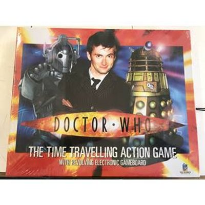 Doctor Who Time Travelling Action Game