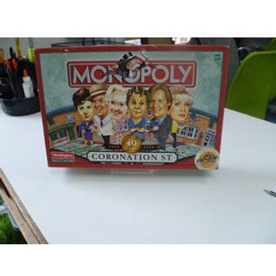 Monopoly  Coronation Street  40 Years