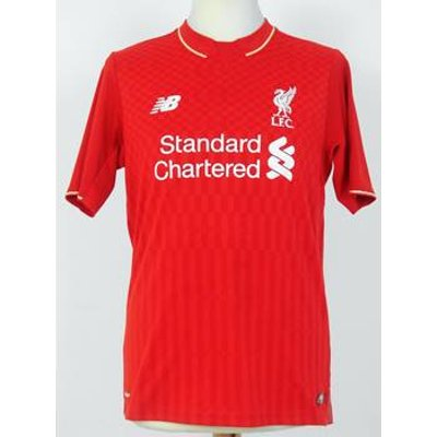 Official Liverpool FC 2015-16 Home Shirt - Coutinho no. 10 - Youth or Small Adult