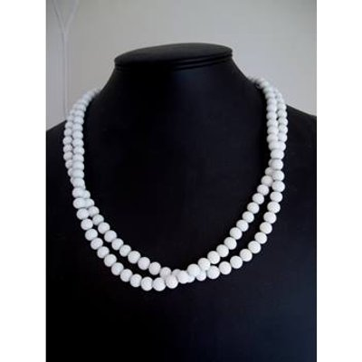 Unbranded - Size: Medium - White - Necklace