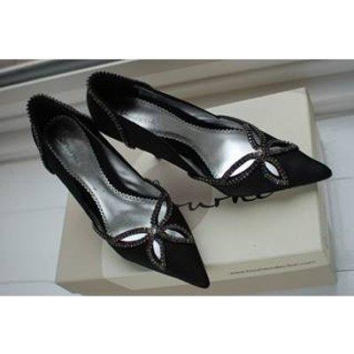 Bourne Jessie shoes 36 Bourne - Size: 3.5 - Black - Heeled shoes