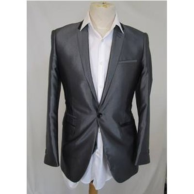 Marc Darcy - Size: S - Grey - 2 piece suit (shirt not included)