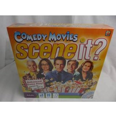 Scene It - Comedy Movies DVD Game - Sealed -