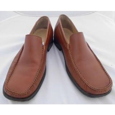 Samuel Windsor hand made leather penny loafer shoes Samuel Windsor - Size: 8.5 - Brown