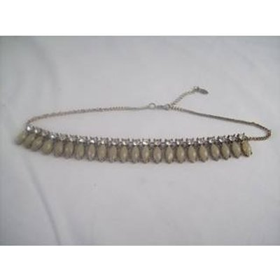 Accessorize Diamante Costume Choker Style Necklace