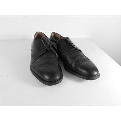 Salvatore Ferragamo Size: 8 Black Brogue