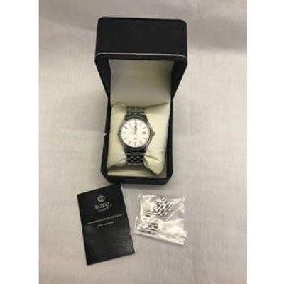 Royal London  Wristwatch Unisex, stainless steel silver strap Royal London - Size: N/A - Metallics