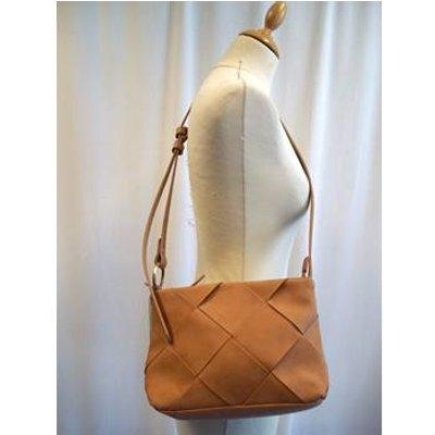 M&S Marks & Spencer - Size: M - Light Brown - Handbag
