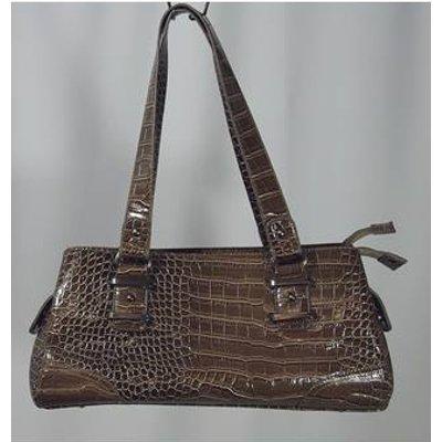 David Jones Brown Handbag