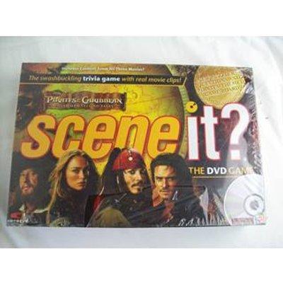 Scene It? Pirates of The Caribbean DVD Trivia Game