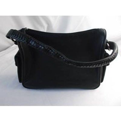 Tommy And kate Leather Hand Bag Black Size: One size
