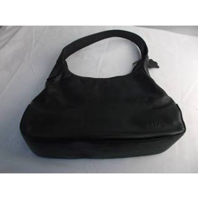 Mia  As New Leather Hand bag Black  Size: M