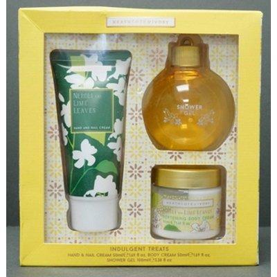 HEATHCOTE & IVORY 'Indulgent Treats' Hand & Nail Cream, Body Cream & Shower Gel