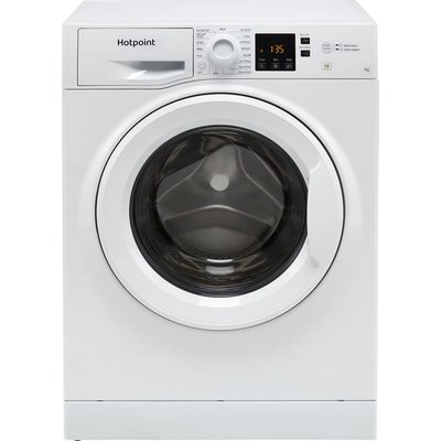 Hotpoint NSWM742UWUKN 7Kg Washing Machine with 1400 rpm - White - E Rated