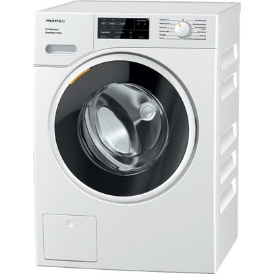 Miele W1 WSG363 Wifi Connected 9Kg Washing Machine with 1400 rpm - White - A Rated