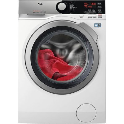 AEG ProSteam Technology L7FEE865R 8Kg Washing Machine with 1600 rpm - White - C Rated